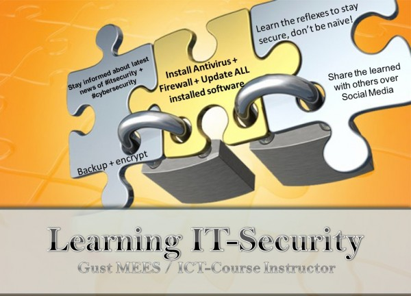 Learning basics of IT-Security and Cyber-Security