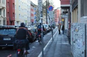 Cologne (Köln) bike lane