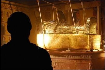Tutankhamun Exhibition in Cologne (DE) on January 2011