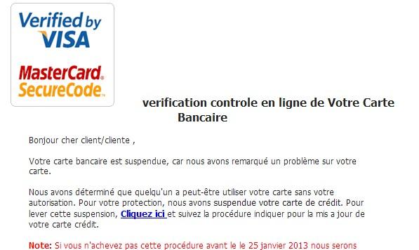 VISA CARD Scam