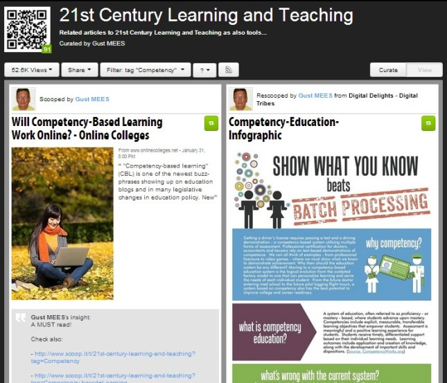 Competency-Curation