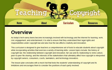 Teaching Copyright