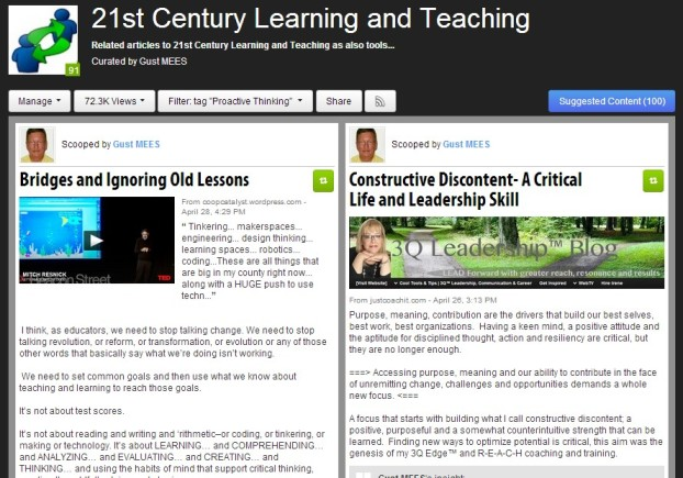 """Curation about """"Proactive-Thinking"""""""