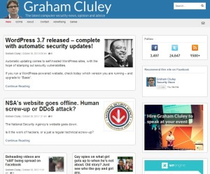 Graham CLULEY Blog