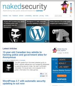 Naked Security Blog (Sophos)