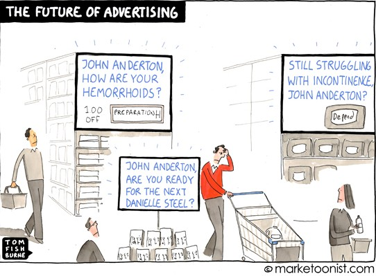 The Future Of Advertising (Cartoon)