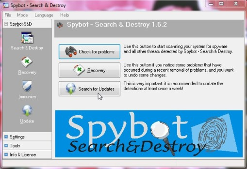 Spyware Search&Destroy 1