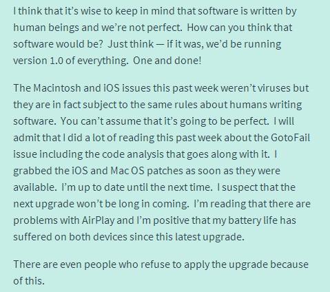 Doug PETERSON - coding- nobody is perfect