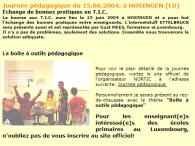 Journée Pédagogique-HOSINGEN-NorTIC-15-06-2004