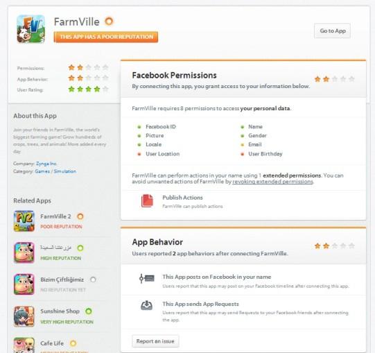 Farmville and Privacy