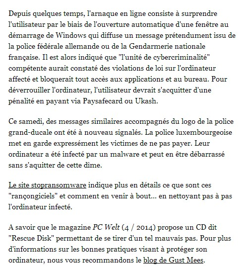 WORT-article-online-Gust MEES-Recommandation-17.03.2014