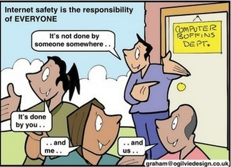 We are ALL responsible for the internet