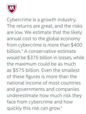 cybercrime-$400 billion-2013