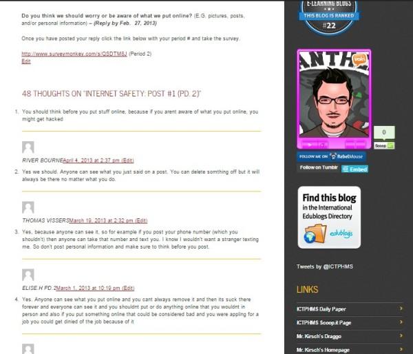 ICTPHMS Digital CiticenShip Blogs