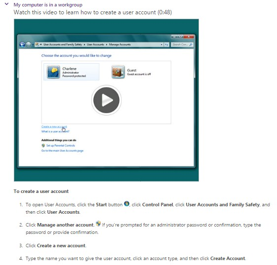 Windows User Accounts
