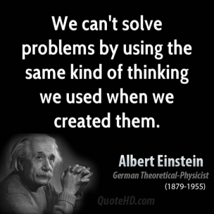 EINSTEIN quotes-problems