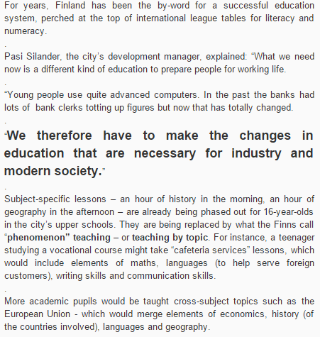 NEW Education-CHANGE-Finland-2015-Europe