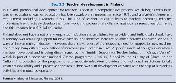 TEACHERS-Professional Development-Finland-2014
