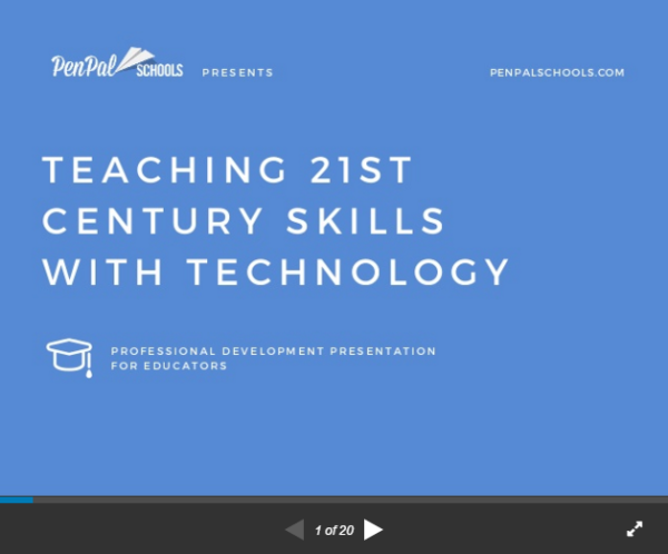 TEACHing 21stCentury Skills With Technology