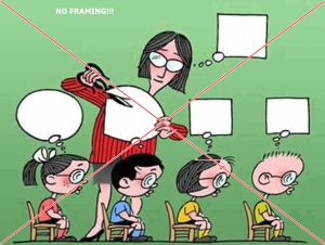 NO Framing in EDUcation
