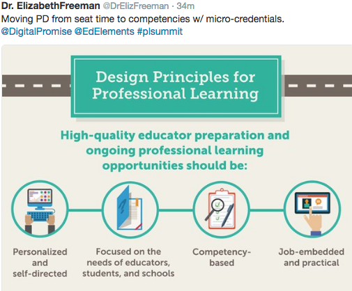 Design Principles for Professional Learning