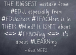 Coaching instead of Teaching in ModernEDUcation
