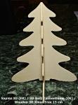 Wooden 3D Xmas Tree assembled