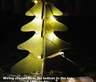3D Wooden Xmas Tree with LEDS