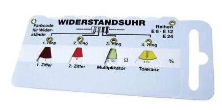 vitrometer-widerstands-uhr