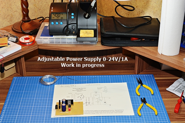 Variable Power Supply-work in progress
