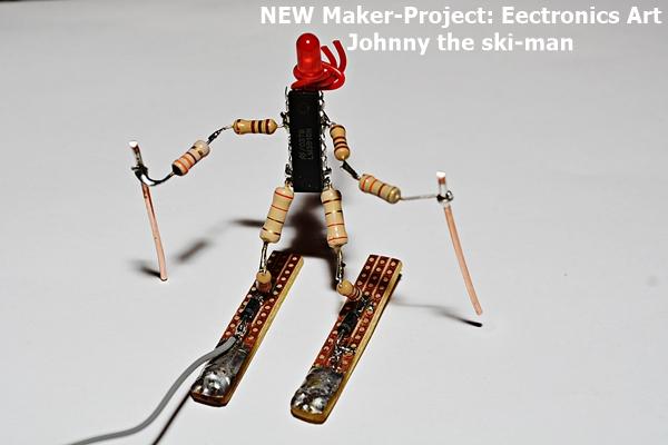 Electronic-Arts: JOHNNY the ski-man