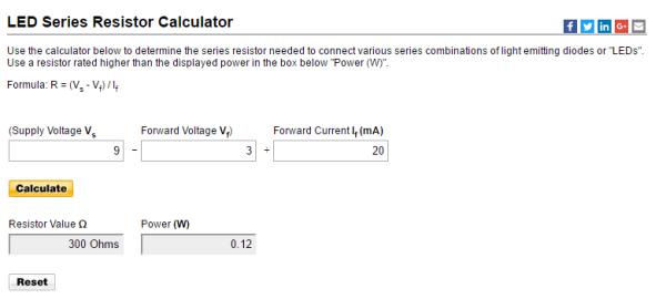 led-series-resistor-calculator