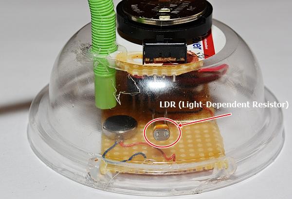 LDR (Light-Dependent Resistor)