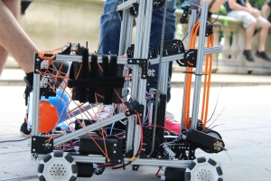 Team Luxembourg's Robot