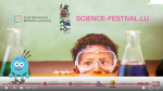 Science Festival 2017 in Luxembourg(Europe)