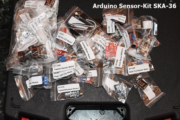 Arduino Sensor-Kit SKA-36-40 sensors