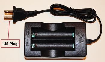 Charger with US plug