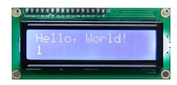 Hello World-LCD-Display