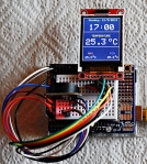 First Steps with the Arduino-UNO R3 | Maker, MakerED, Coding | 1.8 Inch TFT with DS3231 RTC andArduino