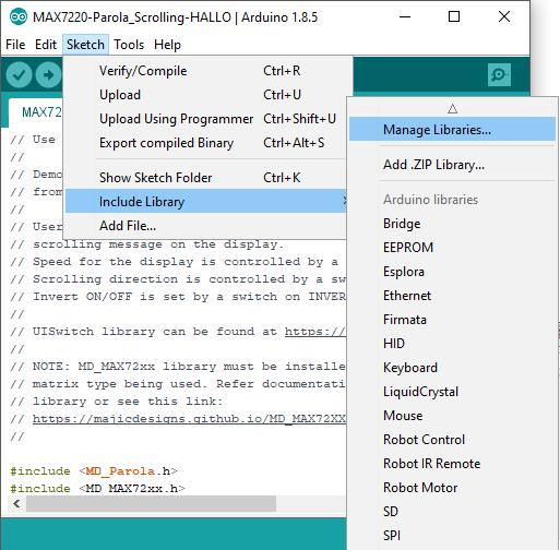 Upload-Libraries-MAX7219-Display-2