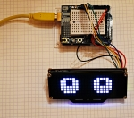 First Steps with the Arduino-UNO R3 | Maker, MakerED, Coding |  24×8 LED MATRIX | Rolling Animated Eyes