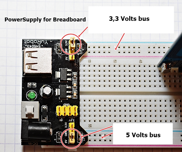 Power Supply for Breadboard