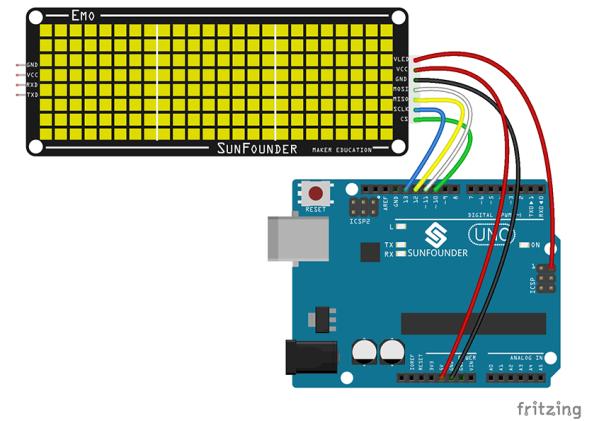 EMO-Arduino wiring