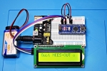 First Steps with the Arduino-UNO R3 and NANO | Maker, MakerED, Coding | Scrolling text withI2C-LCD1602