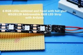 WS2812B soldering
