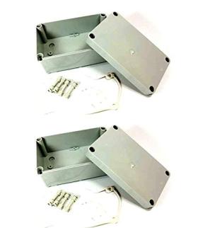 2 x 170mm x 105mm x 85mm Waterproof Plastic Enclosure Case Power Junction Box