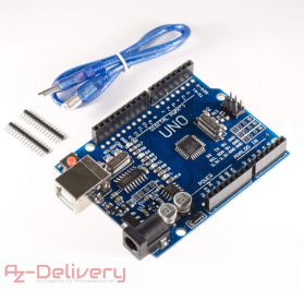 AZDelivery ⭐⭐⭐⭐⭐ UNO R3 mit USB-Kabel, 100% Arduino kompatibel mit gratis eBook!