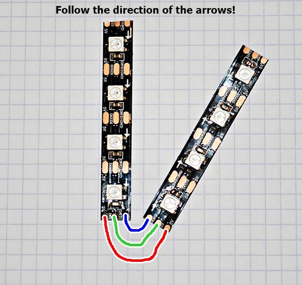 Follow the arrows