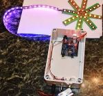 First Steps with the Arduino-UNO R3 | Maker, MakerED, MakerSpaces, Coding | Xmas Star with NeoPixels WS2812B