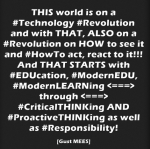 Some Quotes for EDUcators, TEACHers, Instructors, LEHRENDE to make THEM think on Modern-EDUcation… | Part3